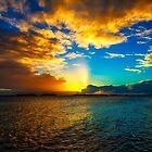 Sunset and Rain by dcdigital