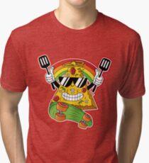 Cool pizza guy Tri-blend T-Shirt
