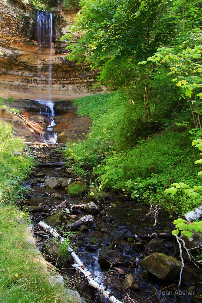 Munising Falls by John Absher