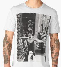 Breakfast at Tiffany's - Audrey Hepburn Men's Premium T-Shirt