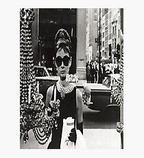 Breakfast at Tiffany's - Audrey Hepburn Photographic Print
