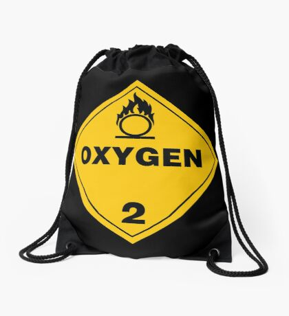 Warning Oxygen 2 Drawstring Bag