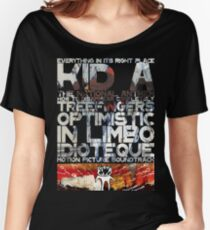 Radiohead - Kid A Women's Relaxed Fit T-Shirt