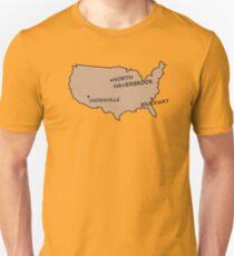 Monorail Map T-Shirt