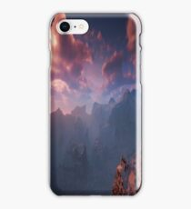 Beautiful Pink Mountain Vista iPhone Case/Skin