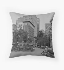 citylife Throw Pillow