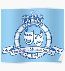 The Regals Musical Society Inc. - Small Logo Poster
