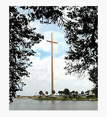 The Great Cross Photographic Print