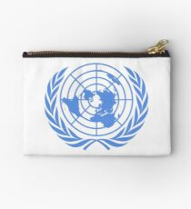 Emblem of the United Nations (Blue on white) Studio Pouch