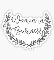 Women In Business - WIB Sticker