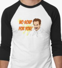 Soup Nazi Men's Baseball ¾ T-Shirt