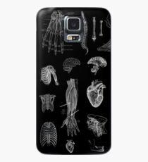 Funda/vinilo para Samsung Galaxy Impresión de la anatomía del vintage