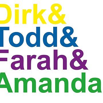 Dirk & Todd & Farah & Amanda. by sky-alive