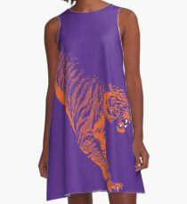 Pouncing Tiger Clemson A-Line Dress