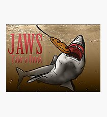 JAWS Take A Dunk  Photographic Print