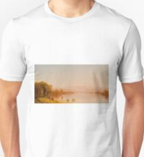 Indian Summer in the White Mountains by Sanford Robinson Gifford T-Shirt