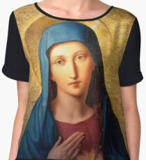 Mother Mary  Women's Chiffon Top