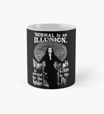 "Morticia Addams-""Normal Is An Illusion..."" Mug"