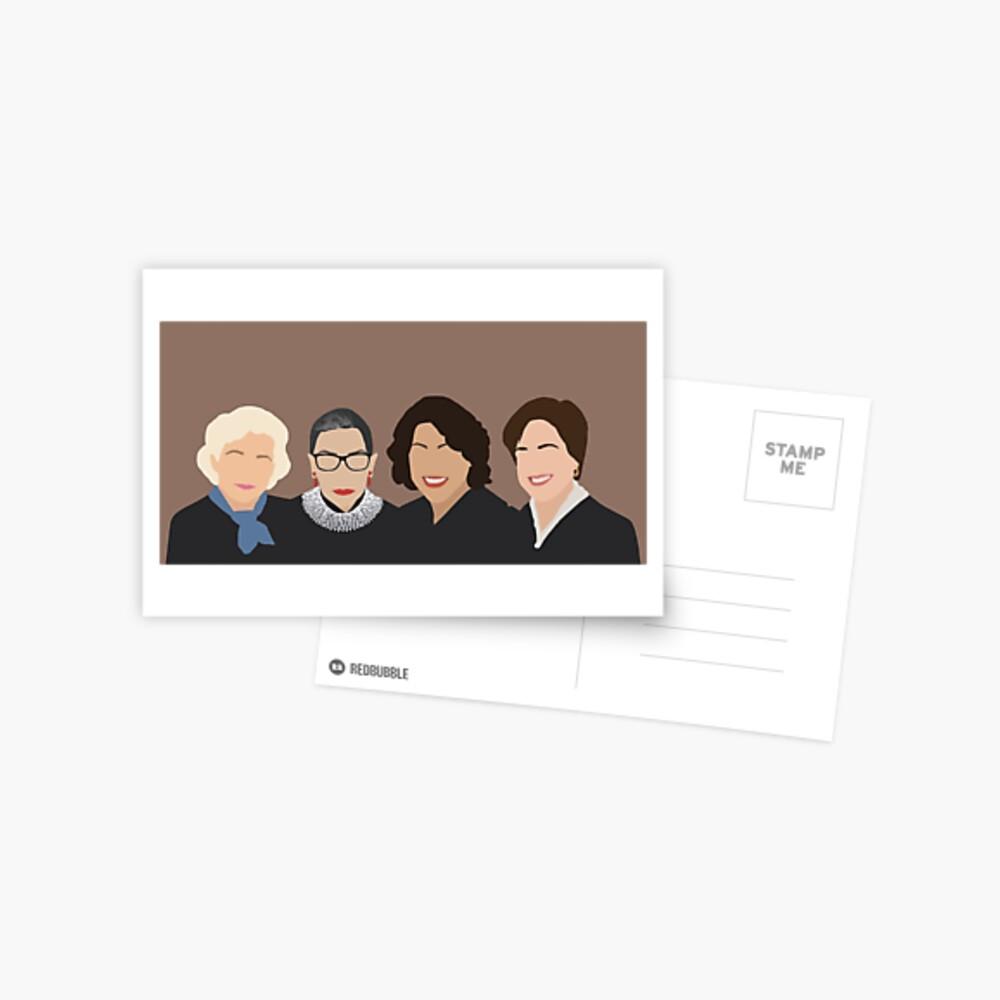 Die Supremes Postkarte