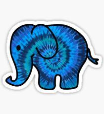 Tie Dye Elephant  Sticker