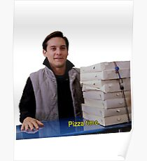 Pizza Time Poster