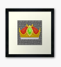 The Queens Crown Framed Print
