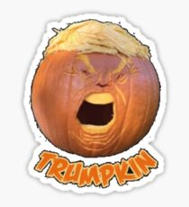 Trumpkin - Scariest Pumpkin This Halloween Sticker