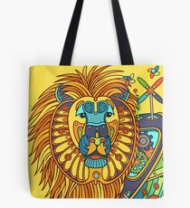 Lion, from the AlphaPod collection Tote Bag