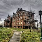 Abandoned Building at the Connecticut Valley Hospital by Terence Russell
