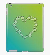 heart of water drops iPad Case/Skin