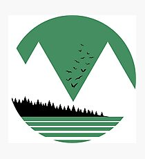 Green Mountains Photographic Print
