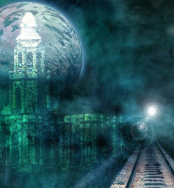 FULL MOON STATION by Tammera