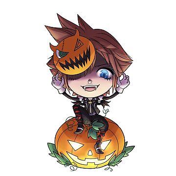 Kingdom Hearts Halloween Sora by Roksva
