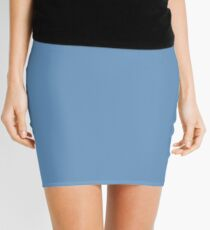 REAL BLUE | SOLID Mini Skirt