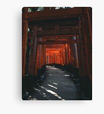 Fushimi-Inari Shrine Canvas Print