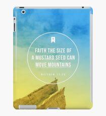 Matthew 17:20 iPad Case/Skin