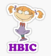 HBIC Angelica Sticker