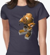Robomang Womens Fitted T-Shirt