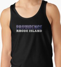 Providence, Rhode Island Skyline Tank Top