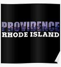 Providence, Rhode Island Skyline Poster