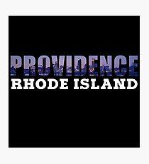 Providence, Rhode Island Skyline Photographic Print