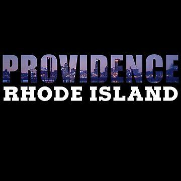 Providence, Rhode Island Skyline by RIHype