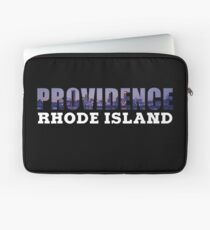 Providence, Rhode Island Skyline Laptop Sleeve