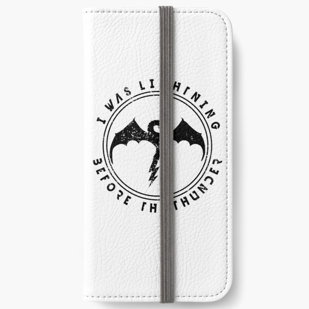Imagine Dragons Thunder iPhone Wallet