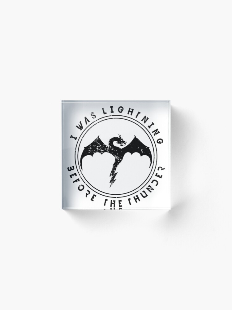 Alternate view of Imagine Dragons Thunder Acrylic Block