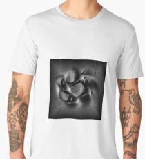 BLACK PUZZLE WIND Men's Premium T-Shirt
