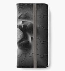BLACK PUZZLE WIND iPhone Wallet/Case/Skin
