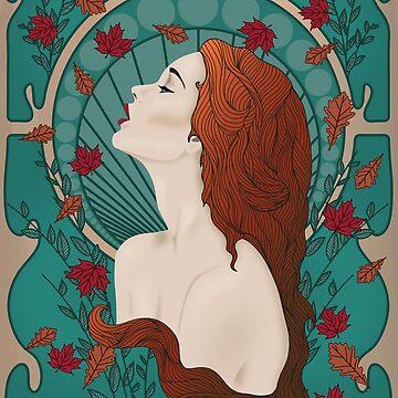 Fall Nouveau by ArianaFire