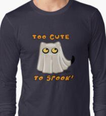 Cute Spooky Ghost Cat! T-Shirt