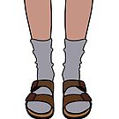 Me and My Birkenstocks And Socks by zlapr